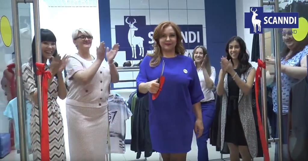Открытие фирменного магазина SCANNDI FINLAND в  ТРЦ ПРИНЦ ПЛАЗА